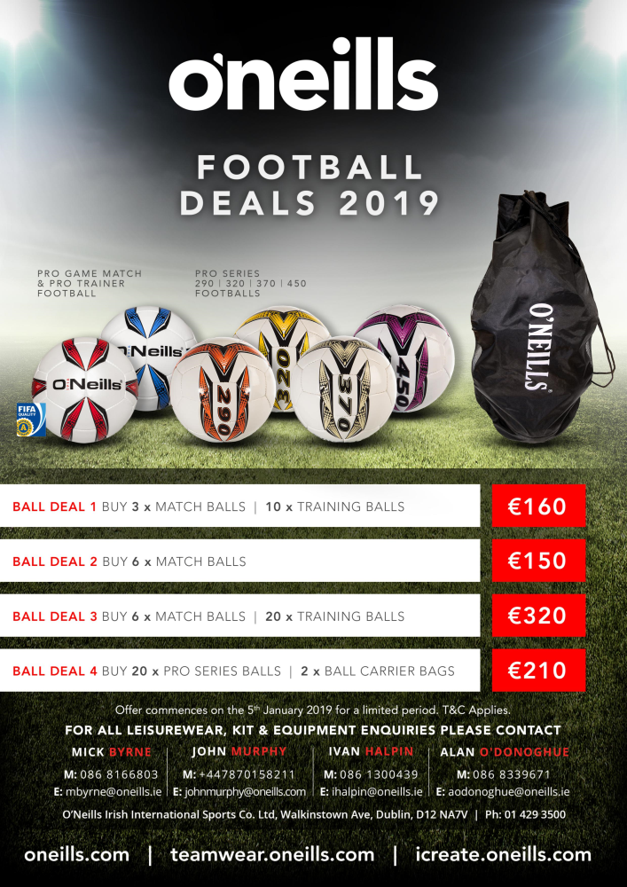 <br>Soccer Deals Flyer 2019<br>